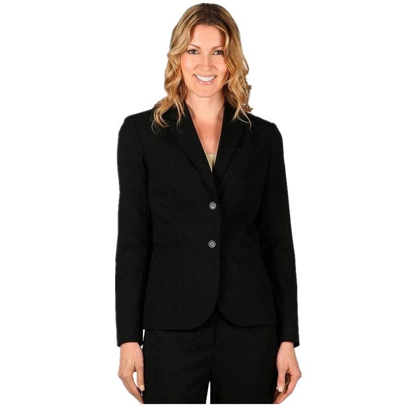 Nová propagace dámské obleky obchodní kancelář jednotné šaty s dlouhým rukávem ženy kabát + dva na zrno spony prom oblek