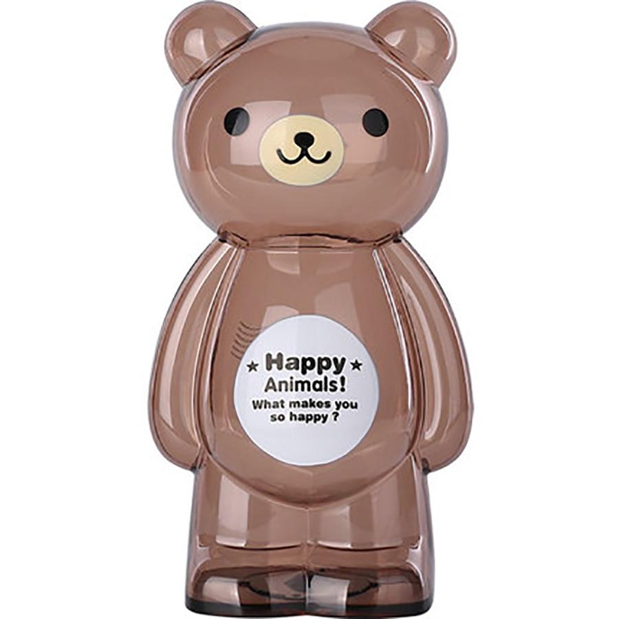 Trasparente Piggy Bank Piggy Bambino Salvadanaio Di Plastica Resistenti Agli Urti Bambino Beardigital Moneta Di Conteggio Vaso Dei Soldi 50a023