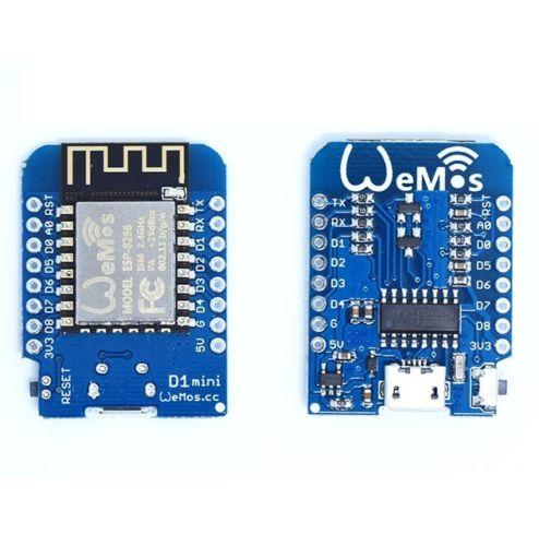 D1 Mini V2 Mini NodeMcu 4M Bytes Lua WIFI Development ESP8266 By WeMos