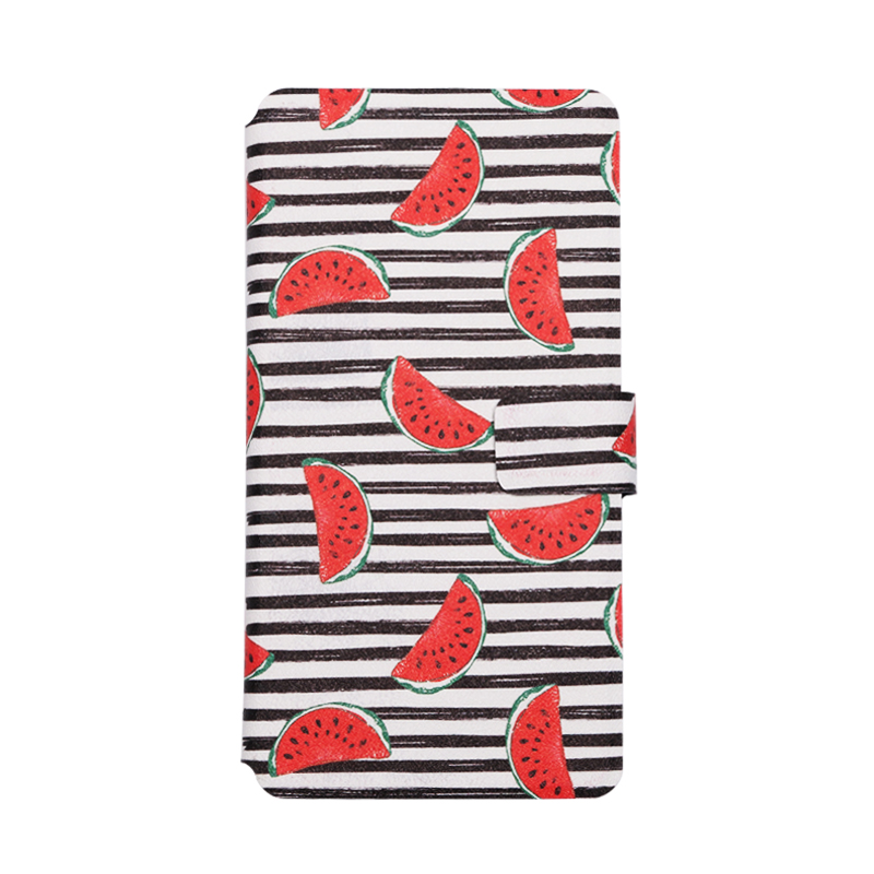 QIJUN Brand Painted Flip Wallet Case For Asus Zenfone Live ZB501KL Live L1 L 1 ZA550KL Mobile Phone Cover Protective Shell in Flip Cases from Cellphones Telecommunications