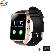 GFT Bluetooth Smart Watch Clock Smartwatch For IOS Android With Camera Support SIM Card GT88 Men