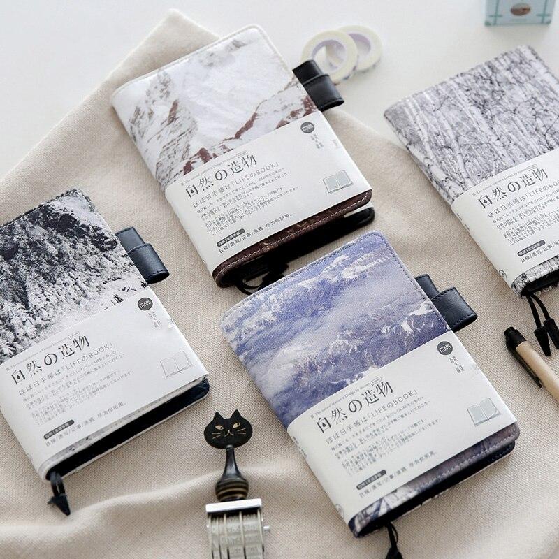 где купить YMLP  Washed Cloth Planner Notebook Notepad Schedule Notebook A6 1PCS по лучшей цене