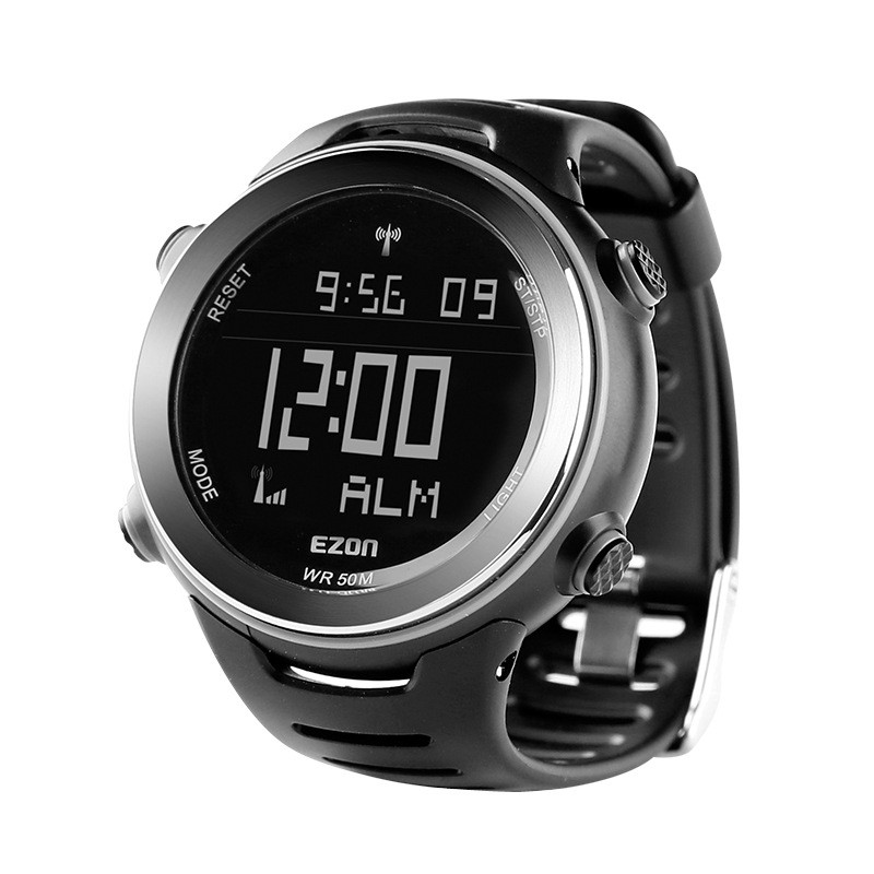 Ezon Multi-functional Running Sport Watch Men Digital Watches Top Brand Outdoor StopWatch 5ATM Waterproof Male Wristwatch Clock