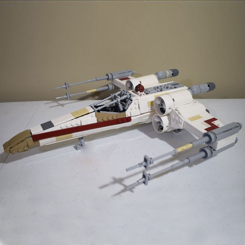 Lepin-05145-Star-Plan-The-X-75218-wing-Star-toys-Fighter-Building-Blocks-Bricks-DIY-Toys