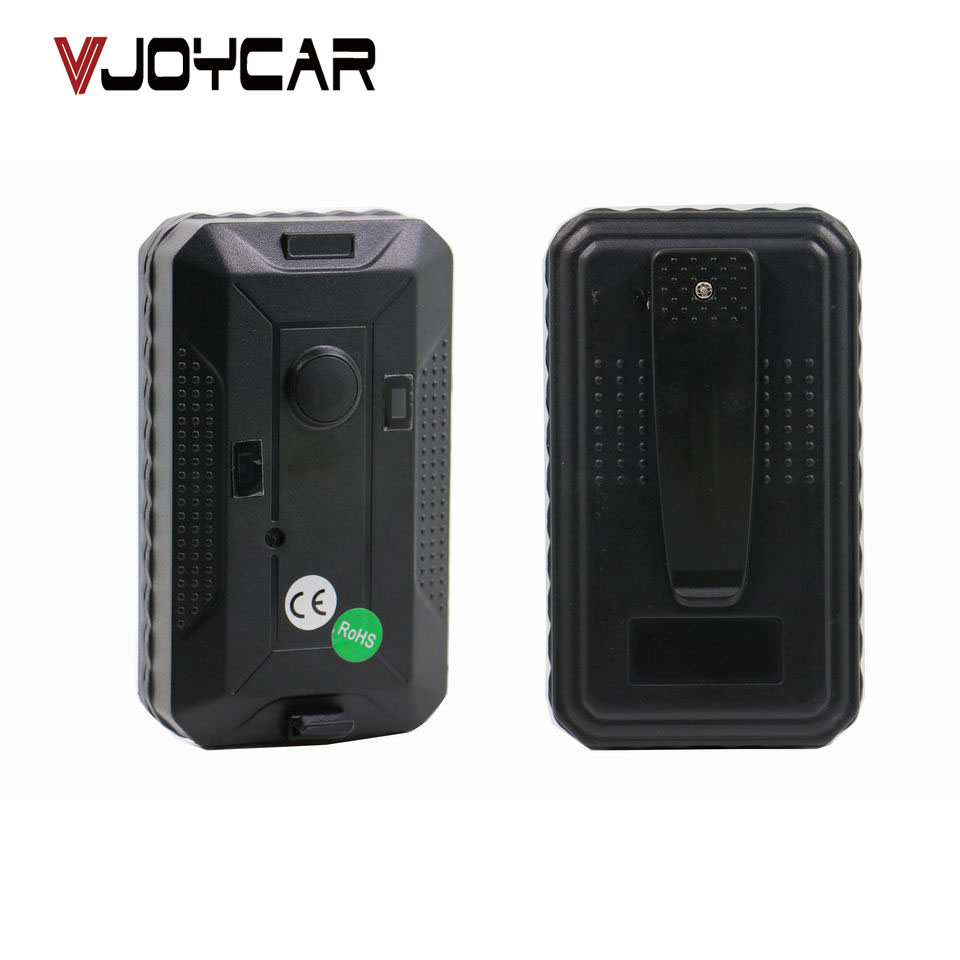 VJOYCAR T13 Portable Waterproof GPS Tracker 400Days Long Battery Life SOS Emergency Button Geo Fence Microphone Voice Monitor vjoycar tk10sse 10000mah rechargeable removable battery