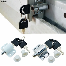 Windows Child safety Lock Anti – Theft Lock Zinc Alloy Window Buckle Doors and Window Limiter Safety Locks Home Hardware KYY8186