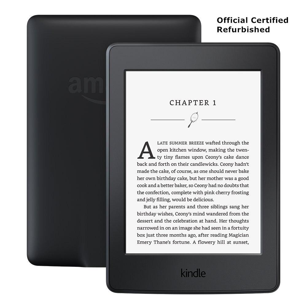 Écran e-ink Kindle Paperwhite 3nd génération 4 GB certifié officiel avec lecteur e-Book à rétroéclairage intégré
