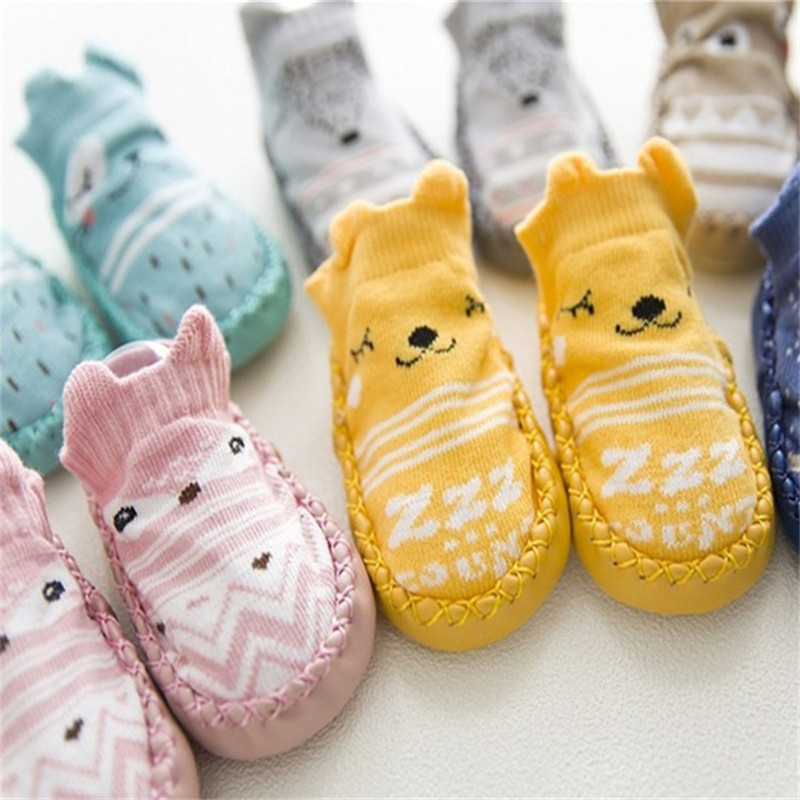 Infant First Walkers Leather Baby Shoes Cotton Newborn Toddler Boy Shoes Soft Sole Autumn Winter Babies Shoes for Baby Girl | Happy Baby Mama