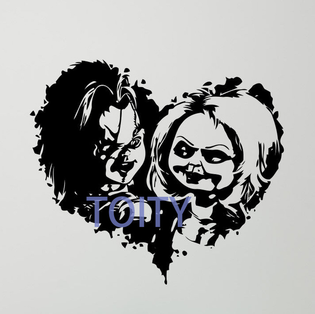 Child S Play Chucky Wall Decal Good Guy Vinyl Sticker