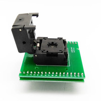 QFN32 MLF32 IC Pitch 0.5 IC550 0324 007 G Burn in Test Programmer Socket Clamshell Chip Size 5*5 Flash Adapter