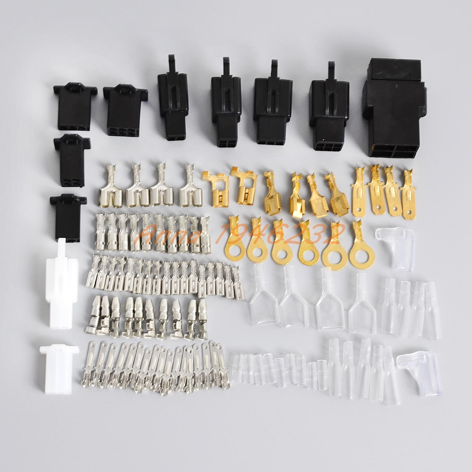 electrical wiring harness loom repair kit plugs bullets. Black Bedroom Furniture Sets. Home Design Ideas