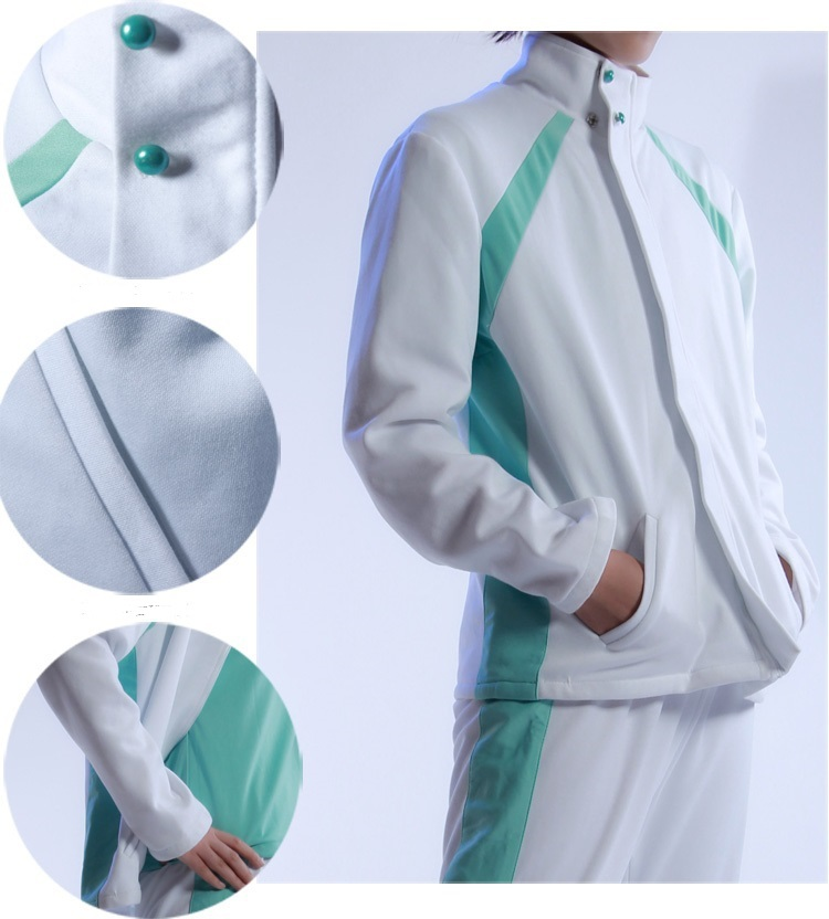 Haikyuu Aoba Johsai High School Uniform Men Volleyball Sportswear Jacket Pant