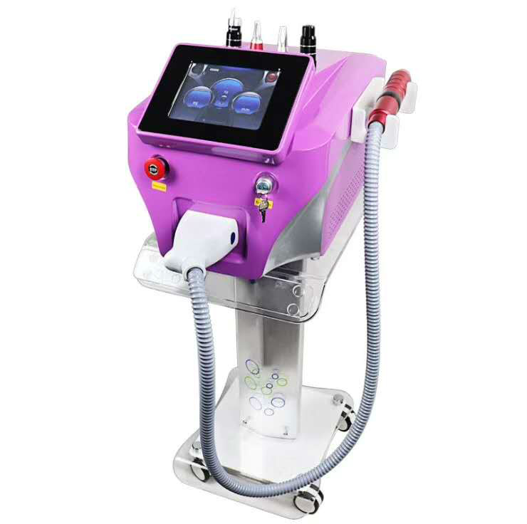 Skin Care Tattoo Removal Q Switch Picosecond  Machine 1064nm 532nm 755mm Pico  Ance Removal Skin Rejuvenation Salon Clinic Use