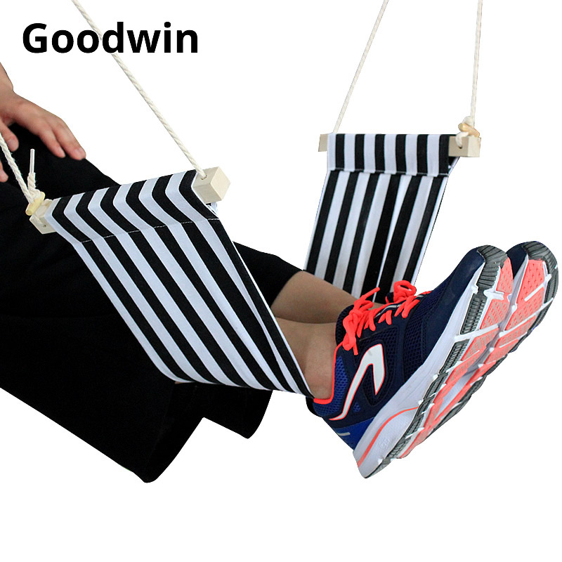Mini Foot Hammock Desk Foot Rest Feet Hammock