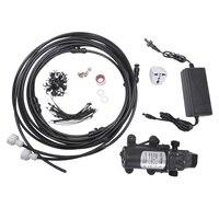 Promotion 12V 5L/Min Misting Pump 160 Psi High Pressure Booster Diaphragm Water Pump Sprayer For Outdoor Cooling System Us Plu