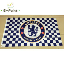 England EPL Chelsea FC 3ft*5ft (90*150cm) Size Christmas Decorations for Home Flag Banner Gifts