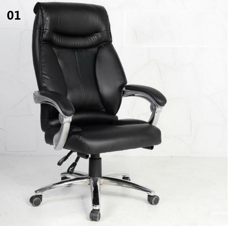 240306/Double reinforced cushion/Computer Chair Household Office Chair /150 degrees can be lying design/ 240311 high quality pu leather computer chair stereo thicker cushion household office chair steel handrails