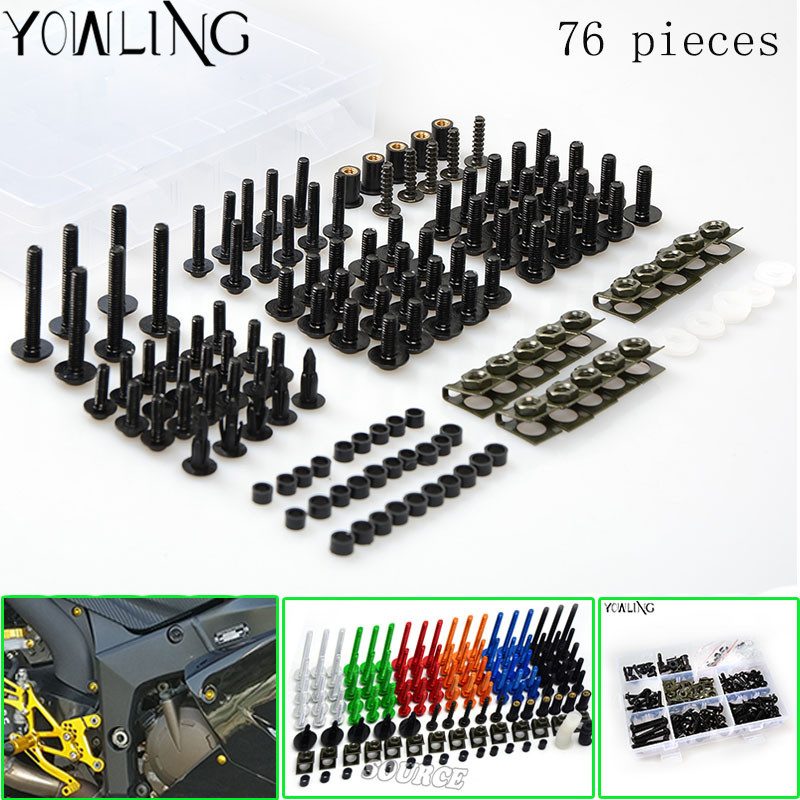 CBR 600 F4 F4i Motorcycle Complete Fairing Bolts For Honda 1999 2000 2001 2002 2003 2004 2005 2006 2007