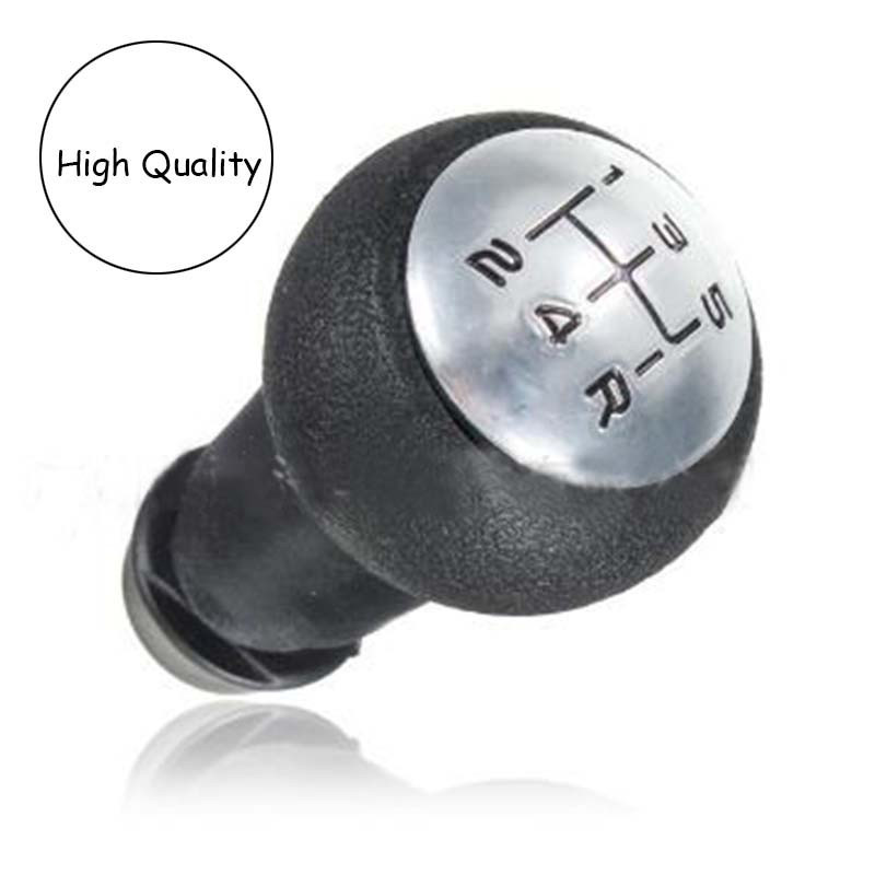 1pcs Car Styling 5 Speed Gear Shift Knob Manual Lever For Peugeot 106 107 205 206 306 406 307 308 3008(China)