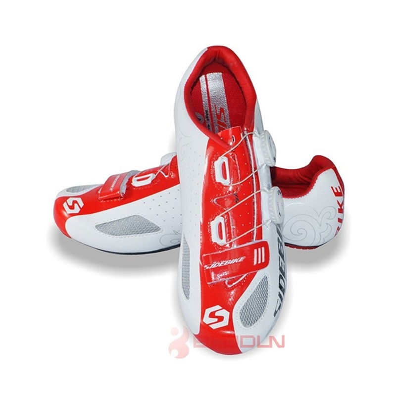 SIDEBIKE Lightweight Bicycle Cycling Shoes Men Women Breathable Road Bike Athletic Shoes Mountain Bike Racing Self-Locking Shoes