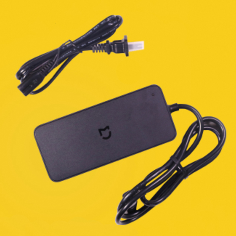 D'origine 42 V 2.0A US Plug Batterie Chargeur Alimentation pour Xiaomi Qicycle EF1 Vélo Électrique Pliable E-Vélo adaptateur Chargeur Kits