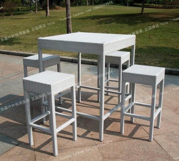 rattan bar chairs tables set rattan outdoor furniture wicker chair stool in bar chairs from. Black Bedroom Furniture Sets. Home Design Ideas