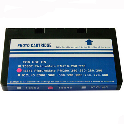 T5846 for Epson T5846 Ink Cartridge For Epson PictureMate PM280 PM200 PM240 PM290 PM225 dye refill ink suit for epson t5846 cartridges suit for epson pm280 pm200 pm240 pm290 pm225 specialized ink