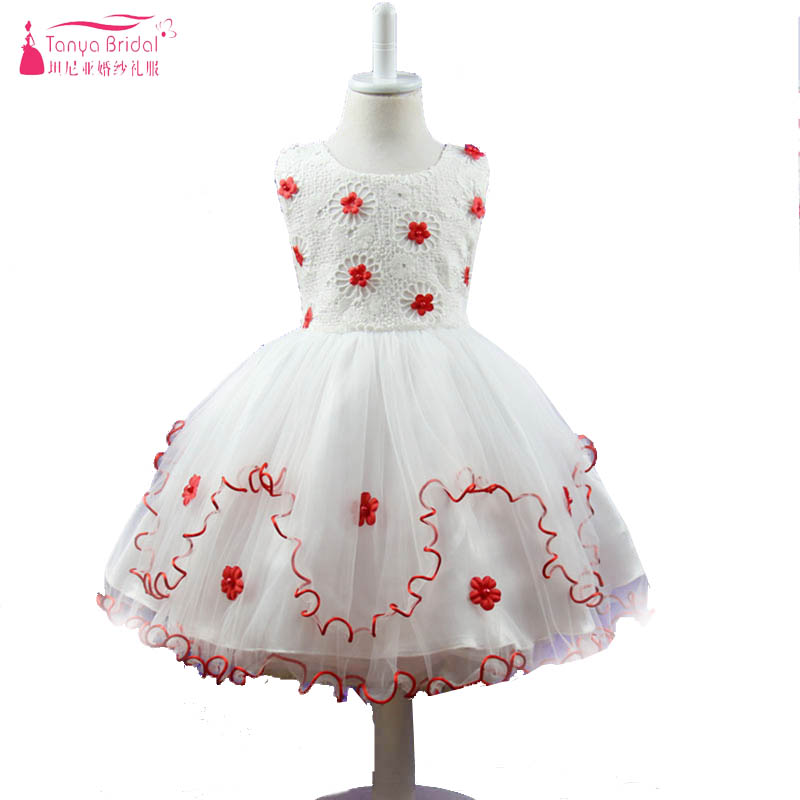 children princess   dress   exquisite three-dimensional   flowers   wavy skirt   Flower     girl     Dress   vestido longo Wedding Party   Dress   ZF030