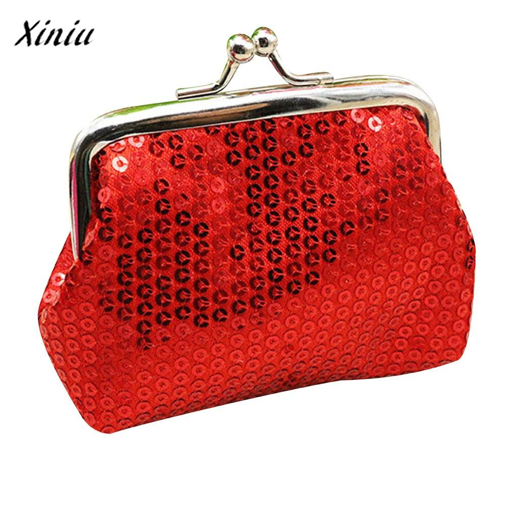 Coin Purse Sequin Hasp Small Wallet Candy Color Mini Money Bag Fashion Design Clutch Bag Monederos Mujer Monedas #7013 coin purses women purse for coins children s wallet kids wallets cats fashion small bag gato monederos mujer monedas carteira