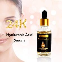 24k Gold Serum Hyaluronic Acid Serum Anti Aging Anti-wrinkles Moisturizing Facial Serum Dark Spots Remover Skin Care  Liquid