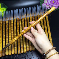 1 piece Top Grade Silkwood Weasel Hair Chinese Calligraphy Brush Pen for Painting Stationary Artist Painting supply gift box bag