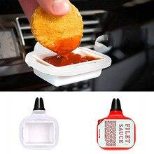 Kongyide 2019 nova venda quente prendedor automático & clipe saucem dip clip in suporte de molho de carro para ketchup molhos de mergulho 2019 novo 9611