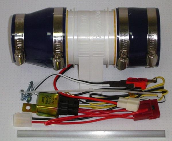Automóvil Modificado Auto partes turbocompresor eléctrico Electrónico Supercharger turbina Turbo cargador de coche Turbo-5000 de metal/ABS