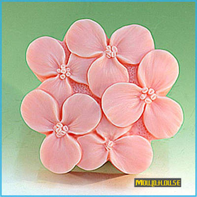 US $12 0 |Wholesale 3D Flowers Handmade Soap Silicone Mold Chocolate  Silicon Mould Resin Candle Molds Form of Cake Polymer Clay Tools-in Clay