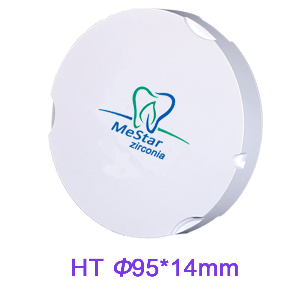 New Arrrival 95mm Diameter 14mm Thickness HT Zirconia Discs for Dental labs With Zirkonzahn M5 CADCAM Milling Machine feeldo 7inch android 4 4 2 quad core car media player with gps navi radio for nissan hyundai universal 2din iso gift am3900