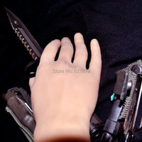 3D real doll solid silicone Pussy hand fake hand sex women hand model show n boys hand in 1 pair
