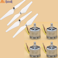 4pcs/lot 2312 920kv Brushless Motor CW CCW + 9450 Propeller for F450 F550 S500 SK500 500mm 550mm RC Quadcopter