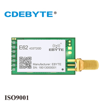 2Pc/Lot CDEBYTE E62-TTL-100 433MHz TDD 1000m Wireless Transceiver rf Module UART Data Receiver rf Module Wifi Antenna цены
