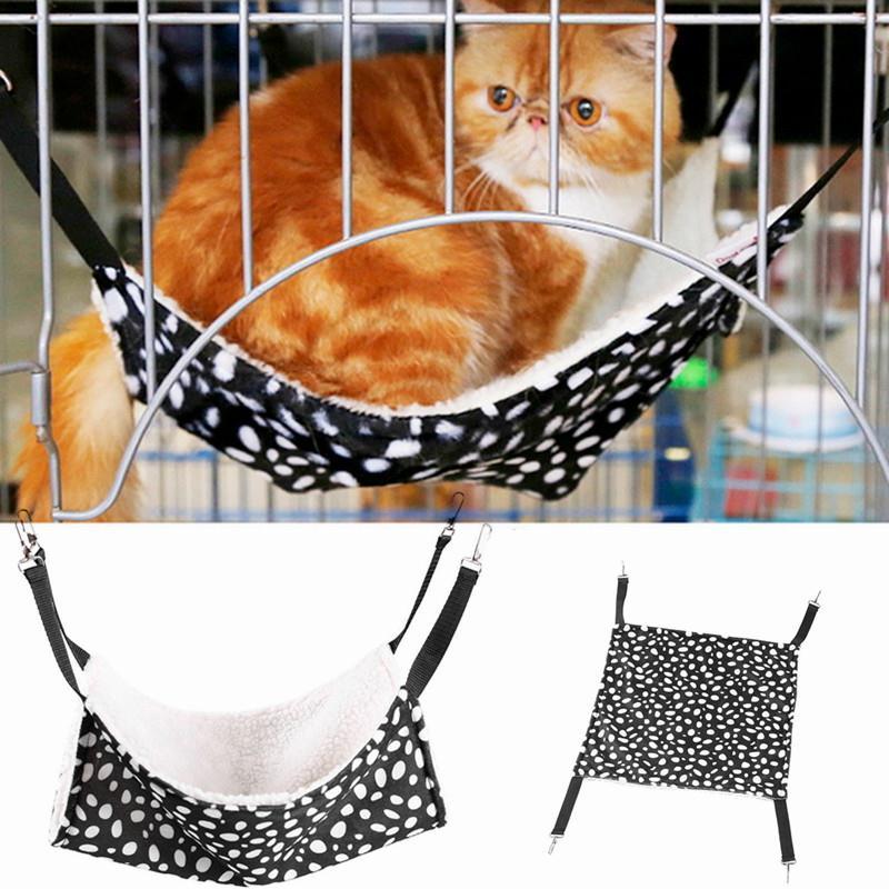 Polk Dot Poliéster Mascota Rata Conejo Chinchilla / Gato Jaula - Productos animales
