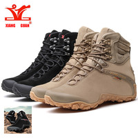 Xiang Crown Sports Tactical Men S Boots New Wear Resistant Camping Sneakers Black Mountaineering Waterproof Boots