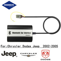 DOXINGYE,Wireless Bluetooth Car MP3 CD Changer Adapter AUX USB Music Handsfree Kit USB Charge For Chrysler Dodge Jeep 2002 2005
