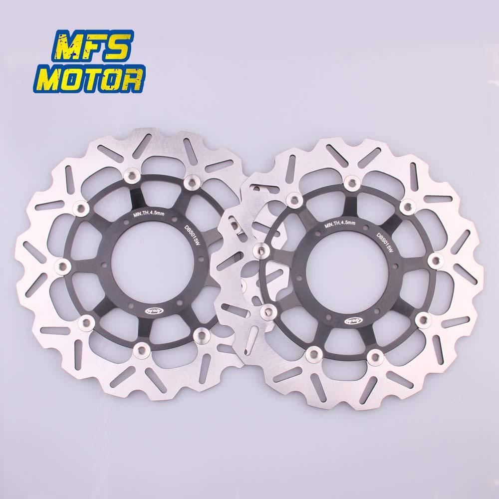 Pour Honda CBR600RR CBR1000RR CB1284 (CB1300) CB1000R ABS CNC disques de frein avant moto frein flottant disque Rotor