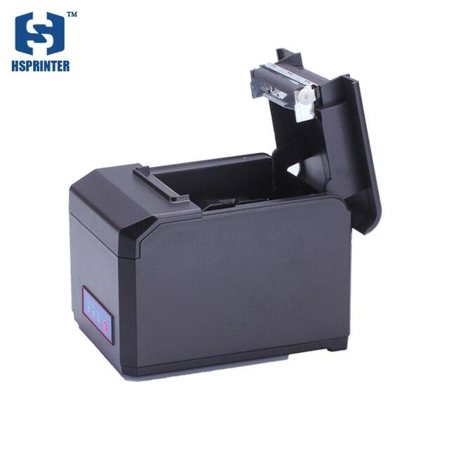 Best Price 80mm desktop printing machine Lan interface thermal