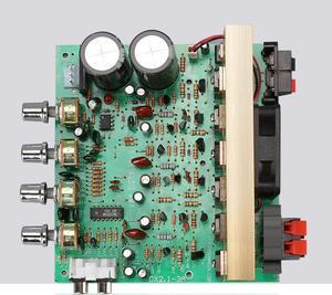 Image 1 - Placa amplificadora de Audio X2, 100W, 2,1 canales, alta potencia, 120w, subwoofer, amplificador de graves, placa RCA para altavoces y teatro