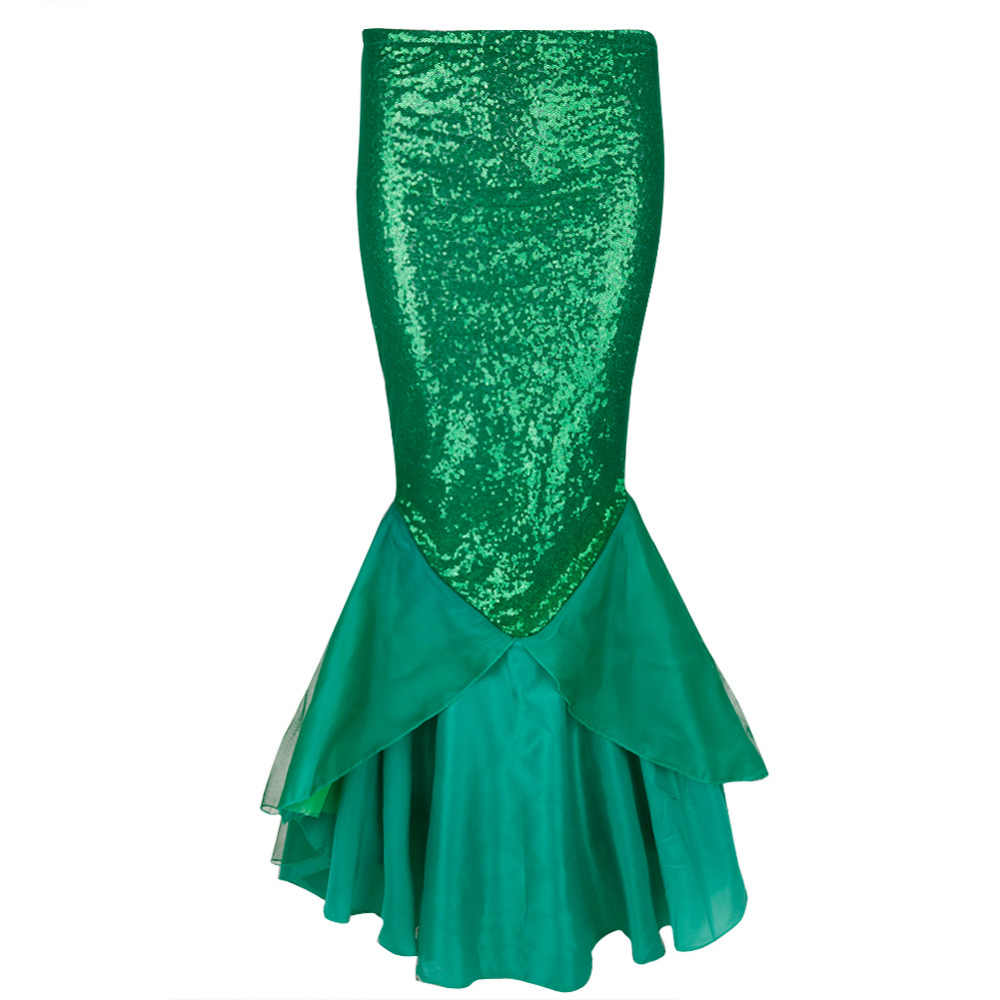 2917c3159887e Hot Sale Women Sequined Mermaid Tail Skirt Party Photography Costume  Birthday Party Sequins Maxi Skirts for Ladies Womens