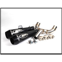 51mm motorcycle pipe exhaust Universal Motorcycle Exhaust Muffler Pipe Case + Middle Pipe for Benelli 600 Exhaust