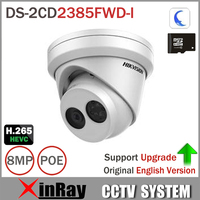 Hikvision 8MP IP Camera DS 2CD2385FWD I Network Turret Camera H 265 Updatable CCTV Security Camera