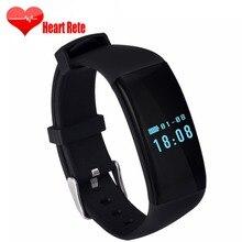 D21 спортивные Smart Watch шаг smartwatch Браслет фитнес-трекер плавать группы Спорт SmartBand пульсометр для iOS и Android
