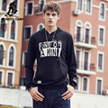 Pioneer camp 2017 chegada nova hoodies casual homens famosa marca designer mens camisola homens luxo preto clothing