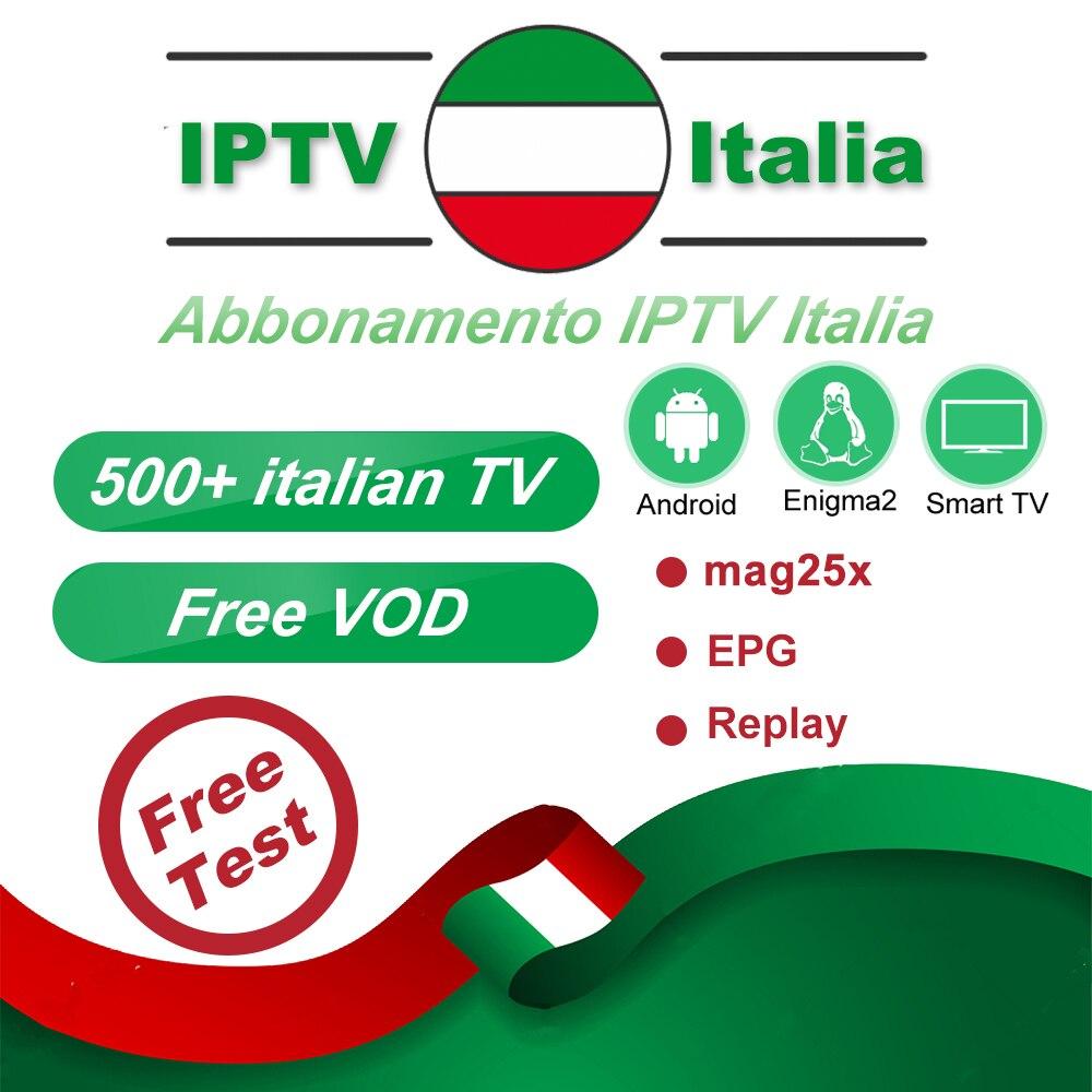 Best Italia IPTV M3u8 600+ IPTV Italian channels Subscription Mediaset Premium For Android TV